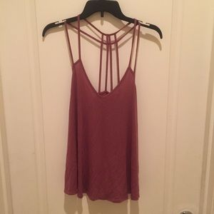 Express Tank with Crossed Back